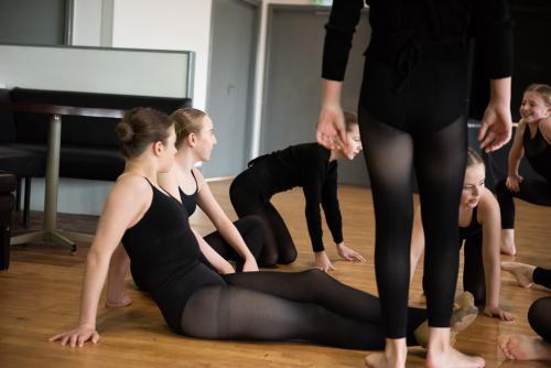 Dancer's Break Time